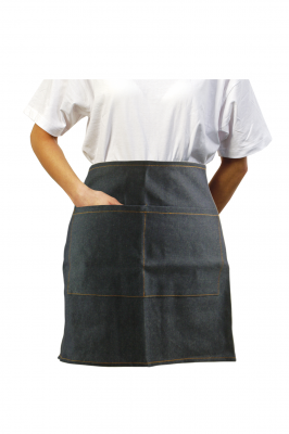 Blue Denim Waist Apron