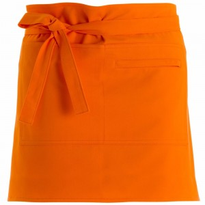 280gsm 100% Cotton Short Apron Orange