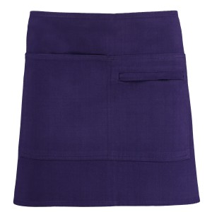 280gsm 100% Cotton Short Apron Purple