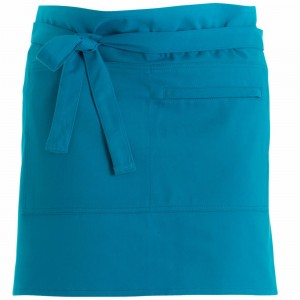 280gsm 100% Cotton Short Apron Turquoise