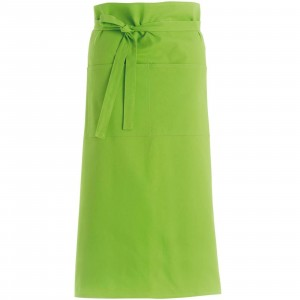 280gsm 100% Cotton Long Apron Lime
