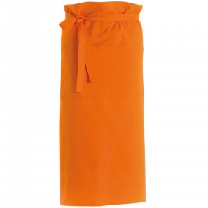 280gsm 100% Cotton Long Apron Orange