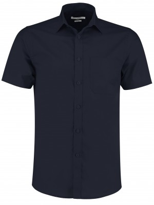 Mens Short Sleeve Shirt Navy