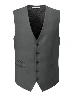 Madrid Men's Waistcoat Charcoal