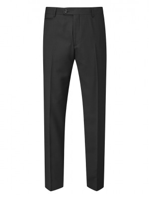 Madrid Men's Slim Fit Trouser Black
