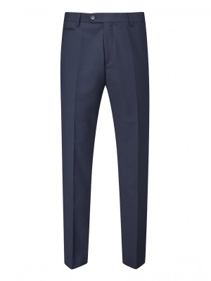 Madrid Men's Slim Fit Trouser Navy
