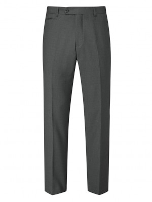 Madrid Men's Tailored Fit Trouser Charcoal
