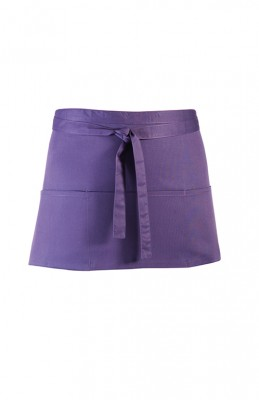 3 Pocket Apron Purple