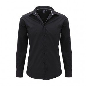 Mens Long Sleeve Fitted