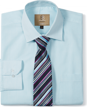 Mens Club Tie Aqua / Plum