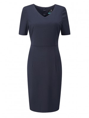 Pendleton Dress V Neck Dress
