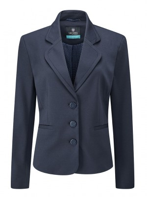 Adams Jacket Women's 3 Button Jacket Navy