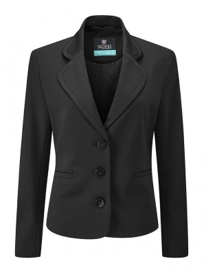 Adams Jacket Women's 3 Button Jacket Black