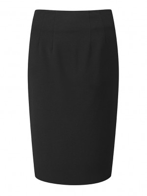Radcliffe Skirt Straight Skirt Black