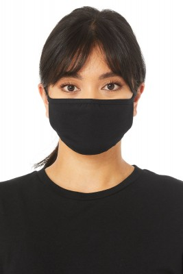 Black Cotton Face Mask (Pack 10)