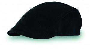 Flat Cap Black