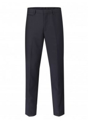 Madrid Men's Tailored Fit Trouser Navy