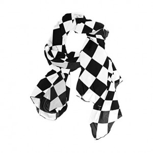 Neckerchief Black Check