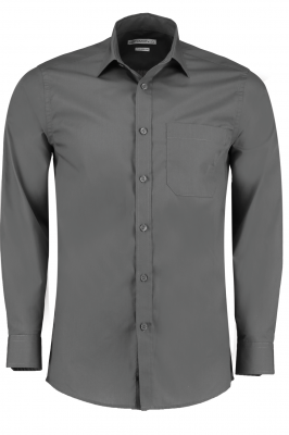 Mens Long Sleeve Shirt Grey