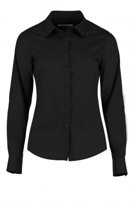 Ladies Long Sleeve Shirt Black