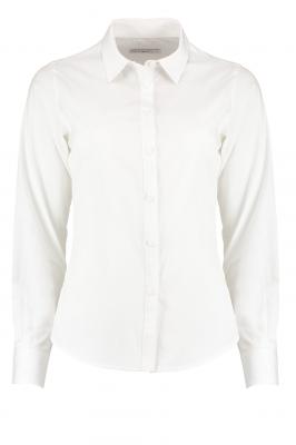 Ladies Long Sleeve Shirt White