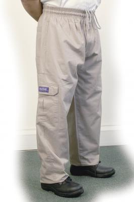 Grey Cargo Pants