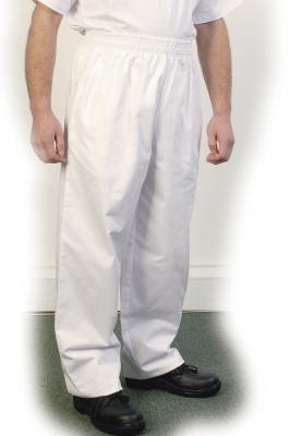 White Baggy Trouser